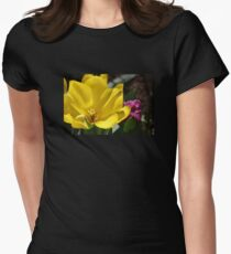 Tulips in Yellow and Purple. T-Shirt