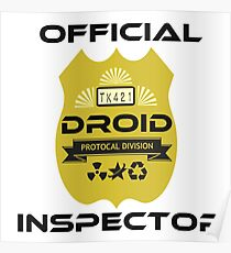 Official Droid Inspector Poster