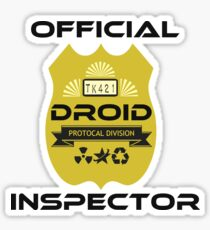 Official Droid Inspector Sticker