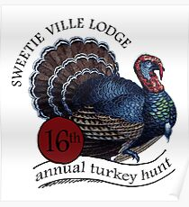 Turkey Hunt Poster