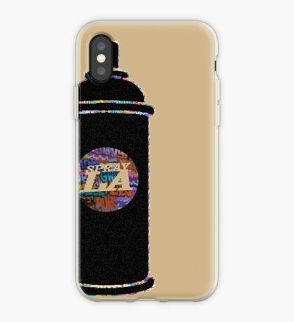 SPRAY-LA-CAN  iPhone Case