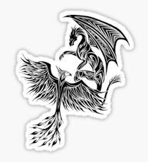 Dragon Fighting 578 Sticker