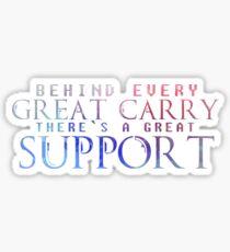 Great Support Sticker