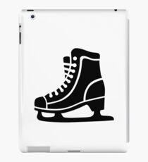 Black ice skate iPad Case/Skin
