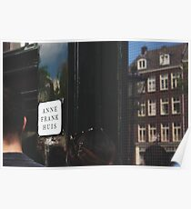 Anne Frank Huis Poster