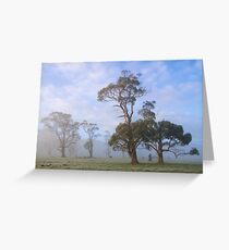 ~ Gums in the Mist ~ Greeting Card