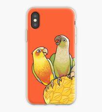 Green Cheek Paradise iPhone Case