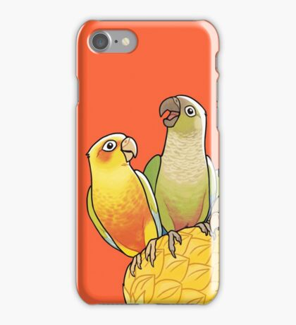 Green Cheek Paradise iPhone Case/Skin