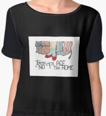There's No Place Like Home Chiffon Top