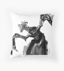 Durnehviir from The Elder Scrolls V Skyrim Dragon; Fantasy Art Throw Pillow