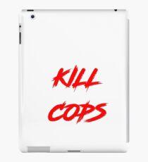 Kill Cops (red) iPad Case/Skin