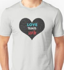 Love Trumps Hate - Religious Equality Unisex T-Shirt