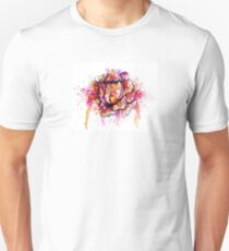 Colorful Cabbage Watercolor Unisex T-Shirt
