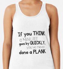 One Minute Plank Women's Tank Top