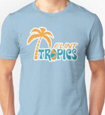 Flint Tropen Retro Slim Fit T-Shirt