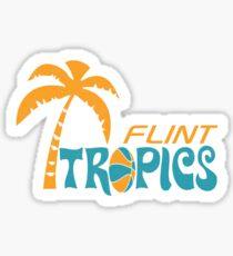 flint tropics stickers redbubble rh redbubble com flint tropics logo font Flint Tropics Second Logo