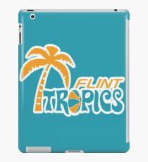 Flint Tropics Retro iPad Case/Skin