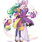 Harpy Gee, Ribbon Candy by Brianne Drouhard