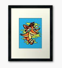 Crash Bandicoocoo Framed Print