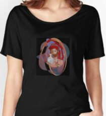 Red, the engraver Women's Relaxed Fit T-Shirt