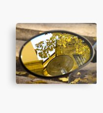 Peeking through the leaves, Bolzano/Bozen, Italy Metal Print