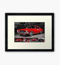 Greg South's HQ Holden Framed Print