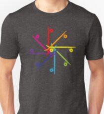 Skateboard Colour Wheel T-Shirt