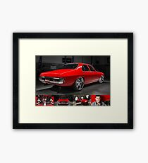 Greg South's HQ Holden Framed Print