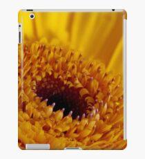 Yellow gerber daisy portrait iPad Case/Skin