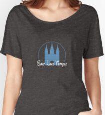 Magical Salt Lake Temple Shirt Women's Relaxed Fit T-Shirt