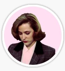 pink scully! Sticker