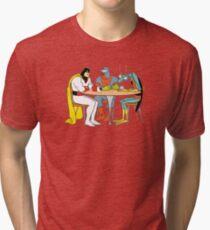 Space Ghost Coast to Coast Tri-blend T-Shirt
