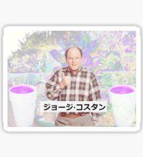 George Costanza Seinfeld Aesthetic Sticker