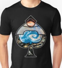 Elemental Ace of Spades Unisex T-Shirt