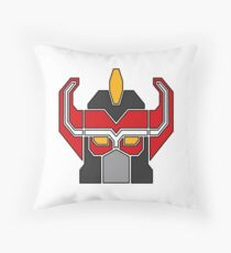 Transformers meets Megazord!  Throw Pillow