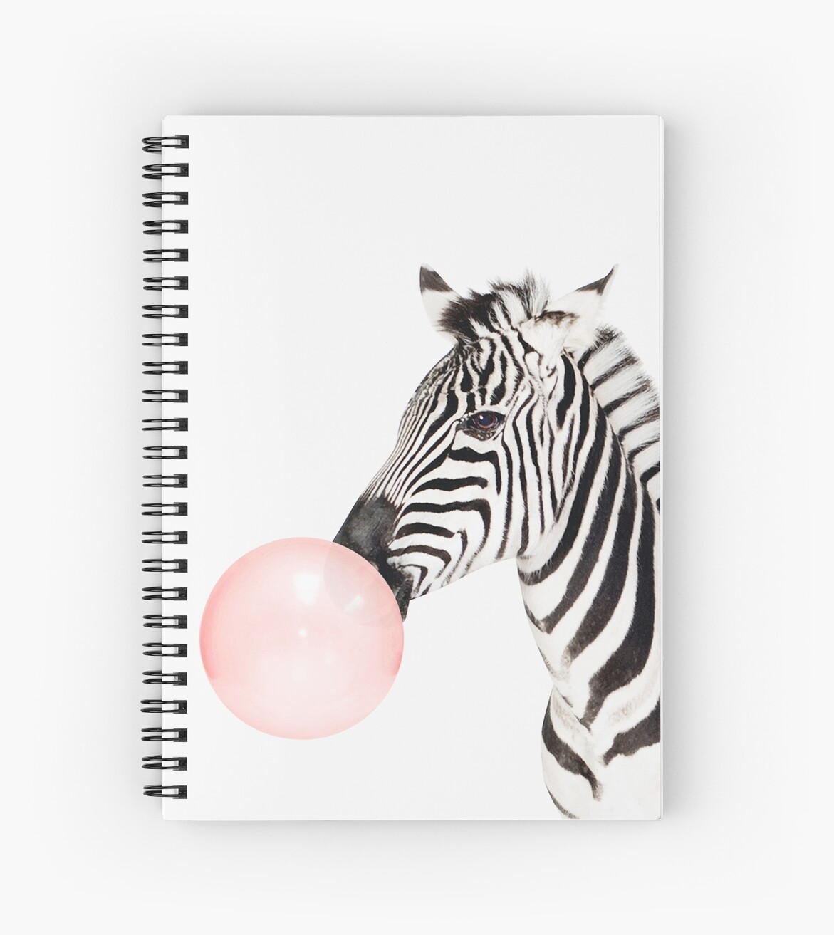 Awesome Zebra Print, Bubble Gum, Nursery Art, Zebra Wall Art, Animal, Kids
