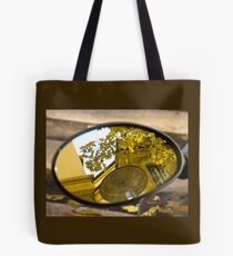Peeking through the leaves, Bolzano/Bozen, Italy Tote Bag