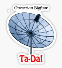 Operation Bigfoot Sticker