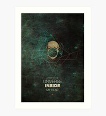 A Part Of The Universe Inside My Head Art Print