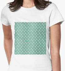 Lots of Devon flags Womens Fitted T-Shirt