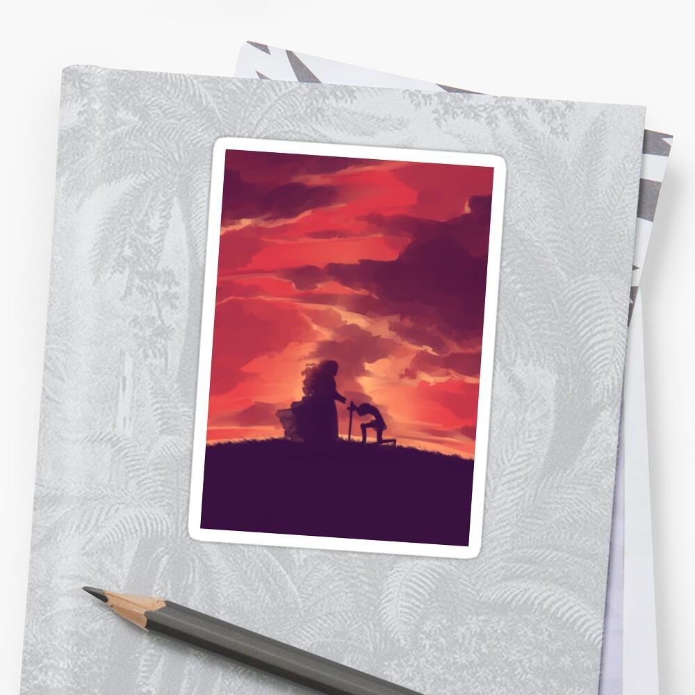 Through Your Eyes (Part 1) Sticker