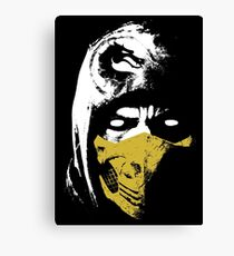 Scorpion X Canvas Print