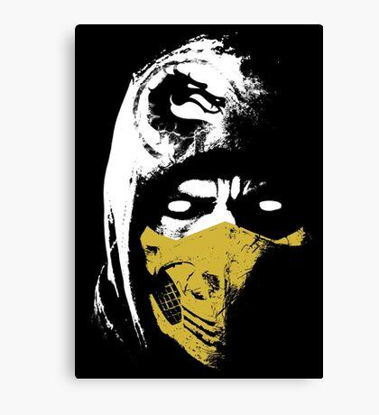 Scorpion X Canvas Print