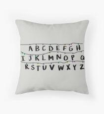STRANGER THINGS - LIGHTS Throw Pillow