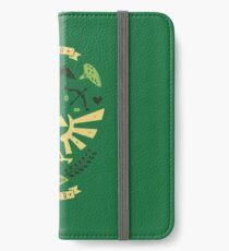 Zelda Crest iPhone Wallet/Case/Skin