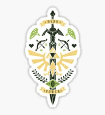 Zelda Crest Sticker