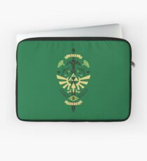 Zelda Crest Laptop Sleeve