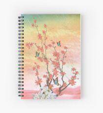 Ikebana Show Spiral Notebook