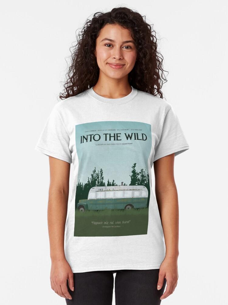 Alternative Ansicht von In die Wildnis - Magic Bus Classic T-Shirt