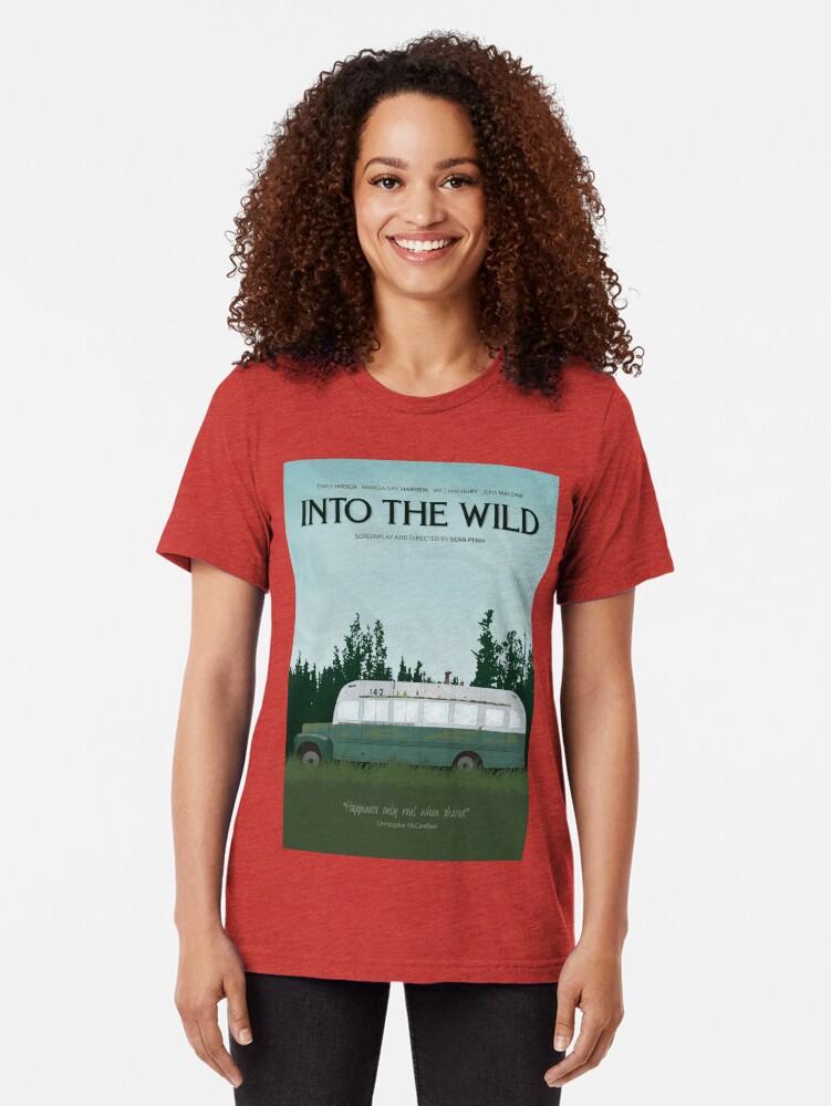 Alternative Ansicht von In die Wildnis - Magic Bus Vintage T-Shirt